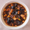 Bean and olive soup