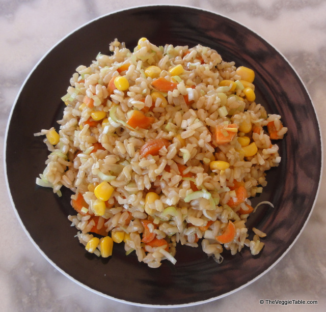 Unfried rice